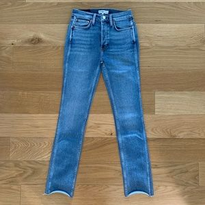 RE/DONE Originals Double Needle Denim Size 26, NWT
